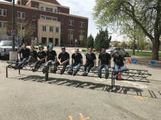 Steel Bridge Team at Conference 2017